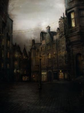 """City"" by shesta713@deviantART"