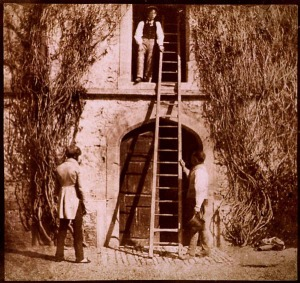"""The Ladder"" by William Henry Fox Talbot"
