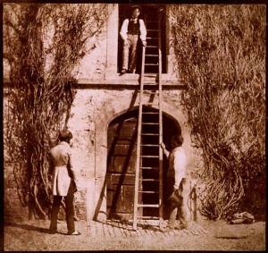 """The Ladder"" by William Henry Fox Talbot"