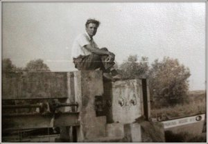 My maternal grandfather, somewhere in the Danube Delta.