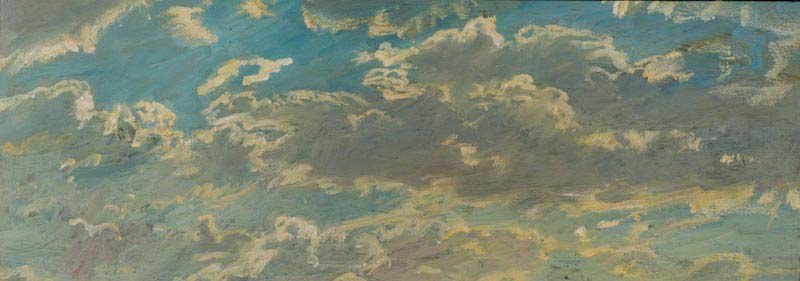 """Alfred James Munnings, """"A Cloud Study"""""""