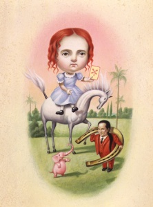 "Mark Ryden, ""Good Luck"" (1991)"