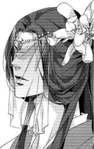"""Panel from the manga """"Hua Hua You Long"""" by Xing Bao Ni and Ai Li Ka"""