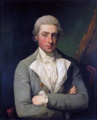 Portrait of a Man (Self-portrait?) c.1782-9 by Gilbert Stuart 1755-1828